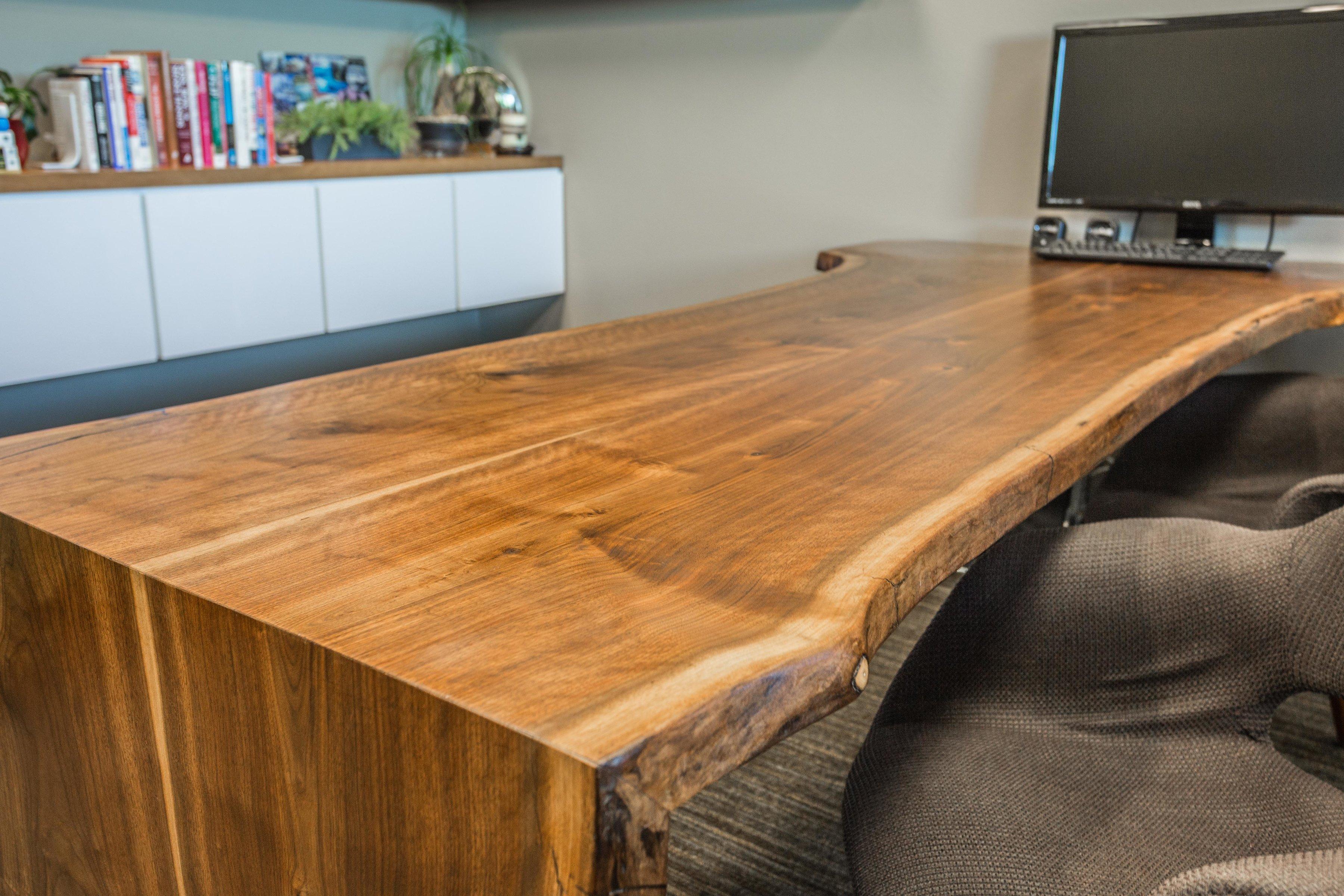 Black Walnut Desk 3400 6
